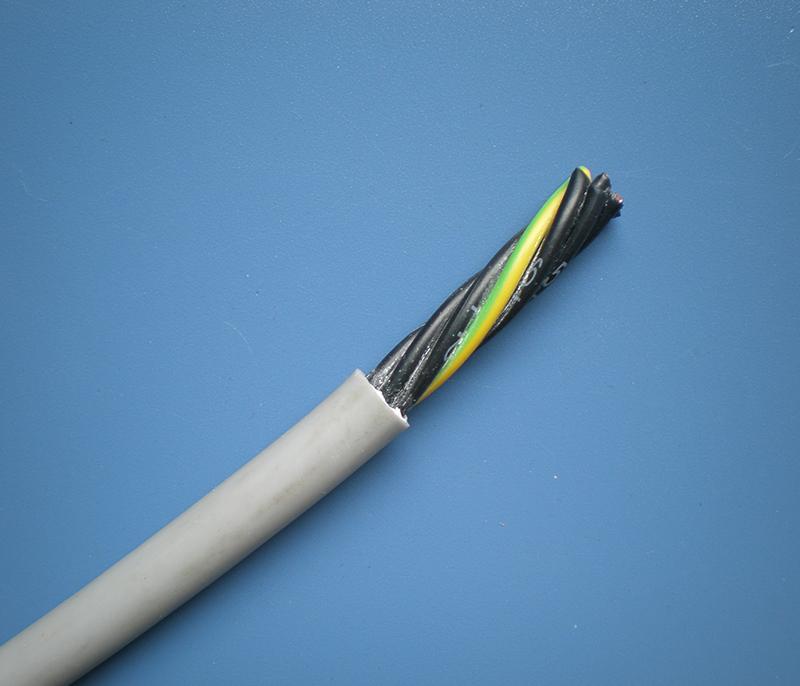 高柔弹性拖链信号控制电缆4